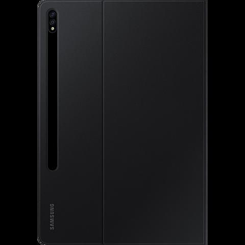 Samsung Book Cover Galaxy Tab S7+ - Schwarz 99931237 hinten
