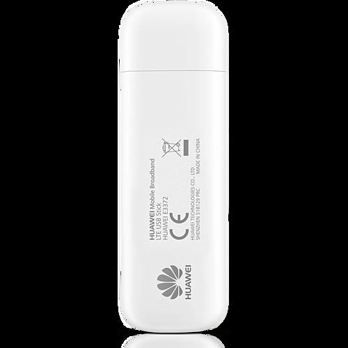 HUAWEI E3372h-320 LTE USB Stick Weiß Hinten
