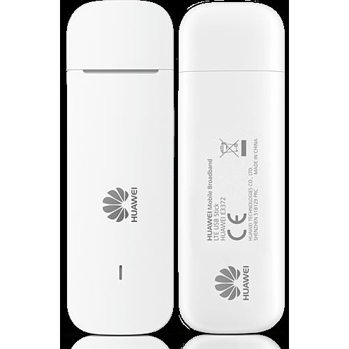 HUAWEI E3372h-320 LTE USB Stick Weiß Vorne und Hinten