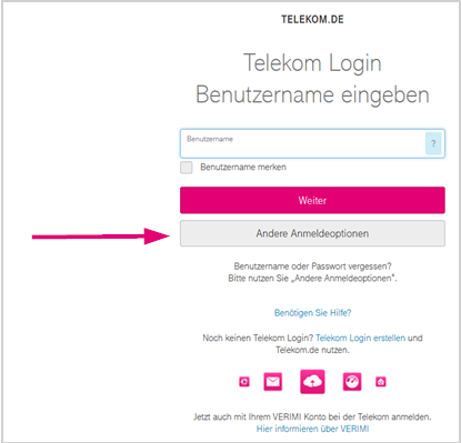 Telekom Login vergessen  Telekom Hilfe