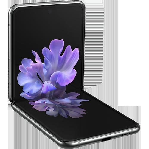 Samsung Galaxy Z Flip 5G - Vorne Seitlich
