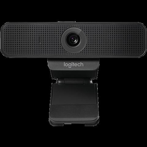 Logitech C925e Webcam - Schwarz 99931238 vorne