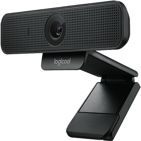 Logitech C925e Webcam - Schwarz 99931238 seitlich