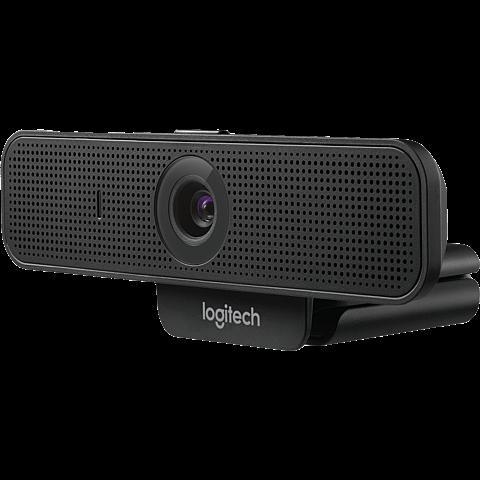 Logitech C925e Webcam - Schwarz 99931238 hinten