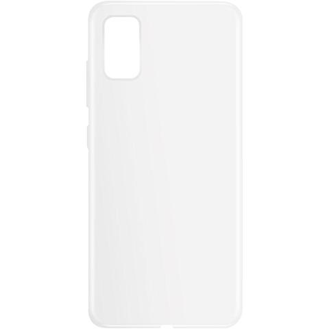 xqisit Flex Case Samsung Galaxy A41 - Transparent 99930938 vorne