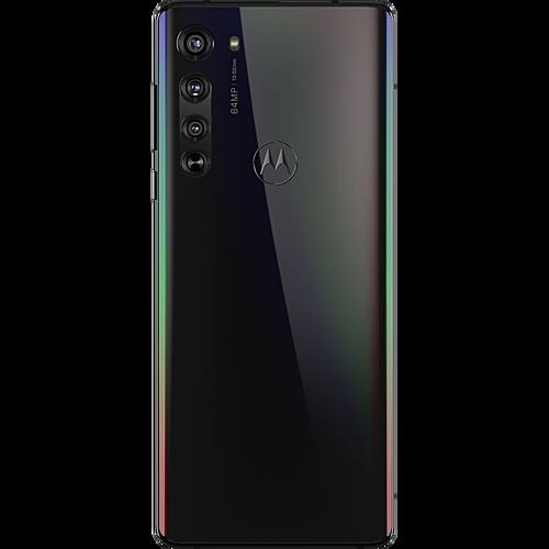Motorola Edge Schwarz Hinten