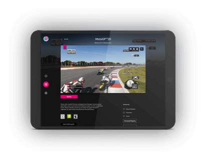 Magenta Gaming Tablet