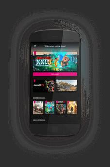 Magenta Gaming Smartphone