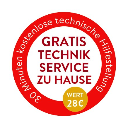 Gratis Technik Service Zuhause