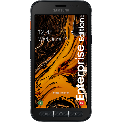 Samsung Galaxy XCover 4s Enterprise Edition Black Vorne