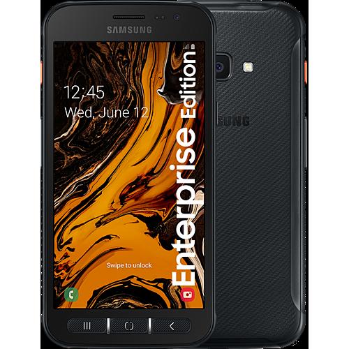 Samsung Galaxy XCover 4s Enterprise Edition Black Vorne und Hinten