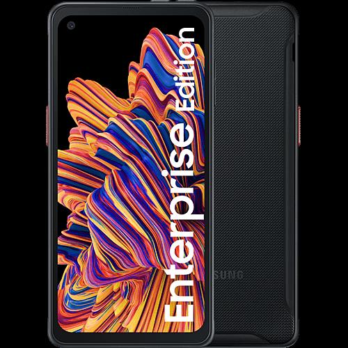 Samsung Galaxy Xcover Pro Enterprise Edition Black Vorne und Hinten