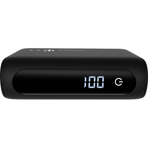 4smarts VoltHub Pocket Powerbank 10000 mAh - Schwarz 99931325 vorne