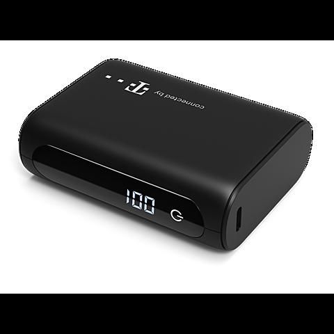 4smarts VoltHub Pocket Powerbank 10000 mAh - Schwarz 99931325 seitlich