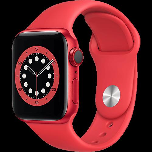 Apple Watch Series 6 Aluminium Sportarmband PRODUCT(RED) Seite