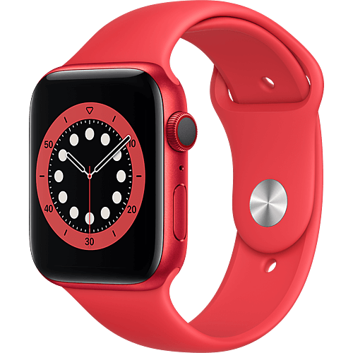 Apple Watch Series 6 Aluminium Sportarmband PRODUCT(RED) 2 Seite