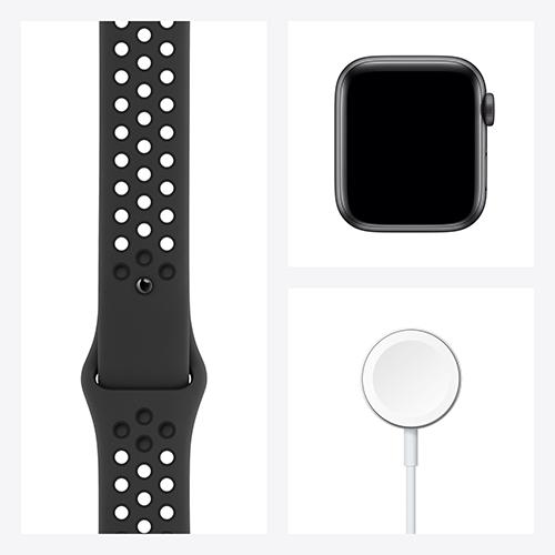 Apple Watch Nike Series 6 Aluminium Sportarmband Space Grau Set