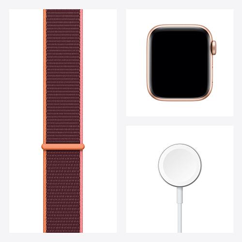 Apple Watch SE Aluminium Sport Loop Gold Set