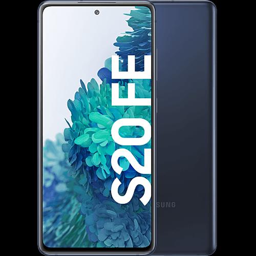 Samsung Galaxy S20 FE Cloud Navy Vorne und Hinten