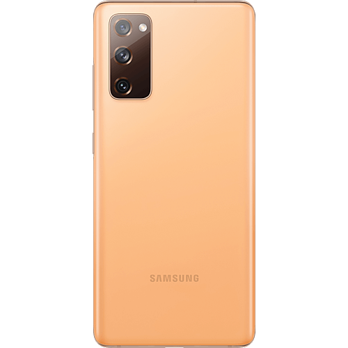Samsung Galaxy S20 FE Cloud Orange Hinten
