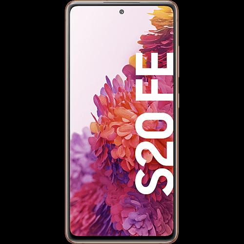 Samsung Galaxy S20 FE Cloud Orange Vorne