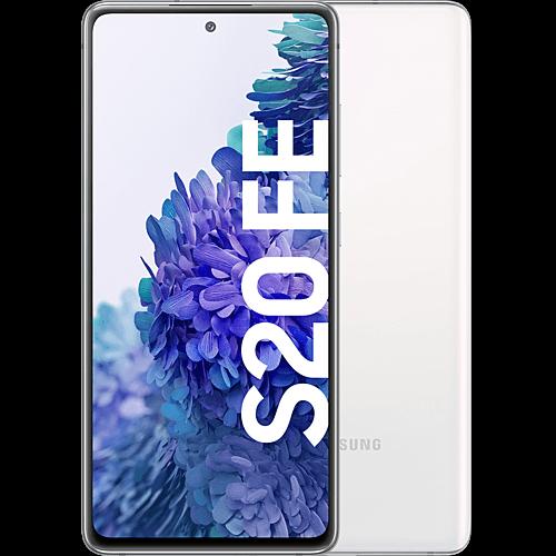 Samsung Galaxy S20 FE Cloud White Vorne und Hinten