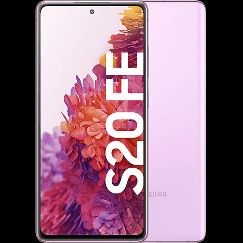 Samsung Galaxy S20 FE Cloud Lavender Vorne und Hinten