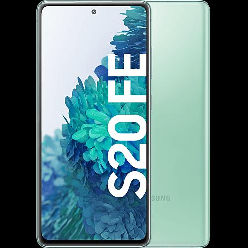 Samsung Galaxy S20 FE Cloud Mint Vorne und Hinten