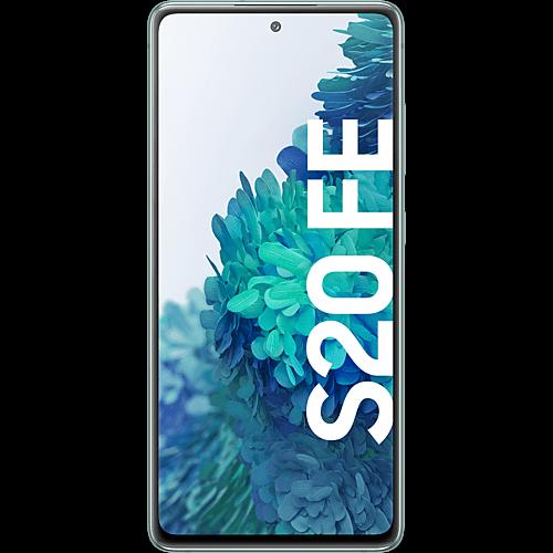 Samsung Galaxy S20 FE Cloud Mint Vorne