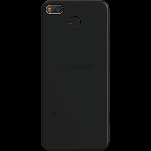 Fairphone 3+ Schwarz Hinten