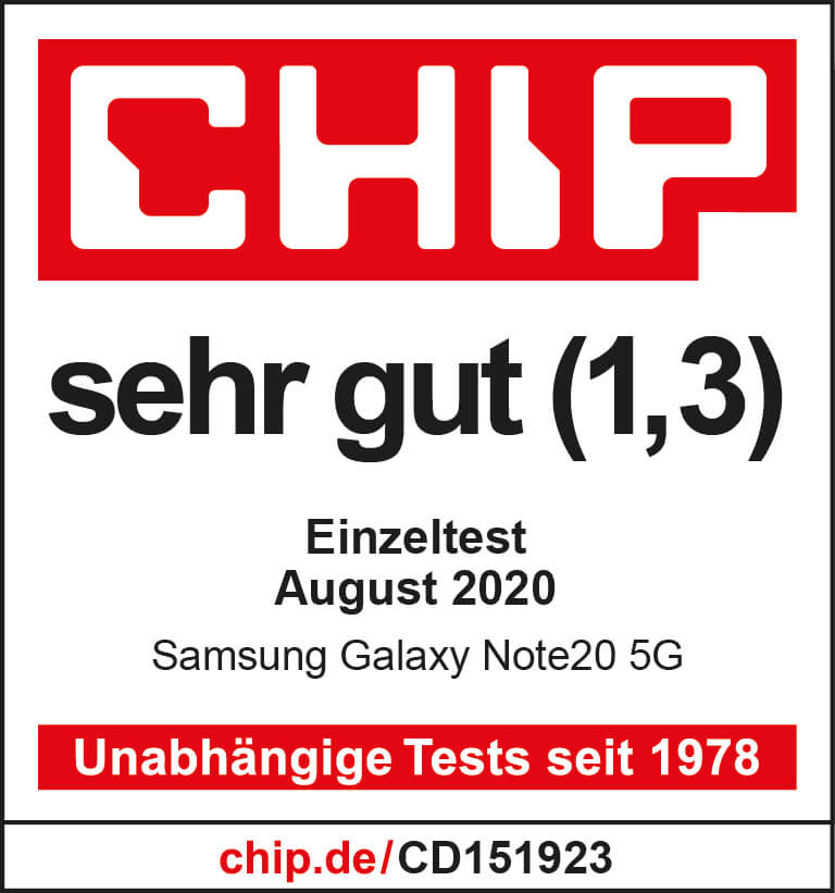 Samsung Galaxy Testsieger Logo