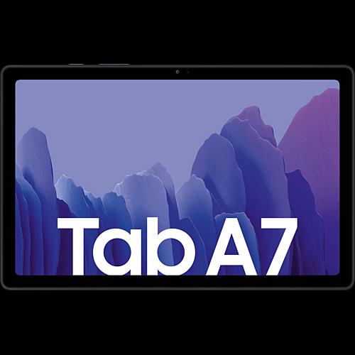 Samsung Galaxy Tab A7 LTE Dark Grey Vorne