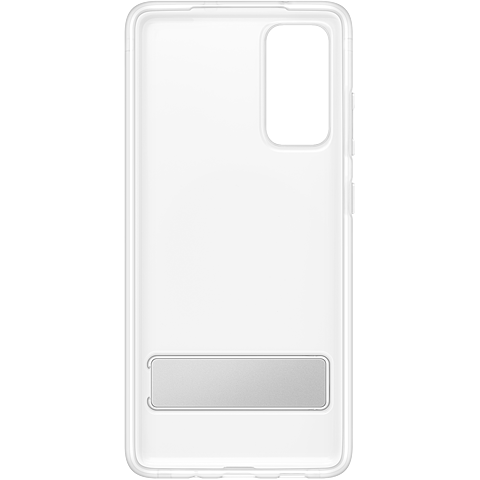 Samsung Clear Standing Cover Galaxy S20 FE - Transparent 99931340 hinten