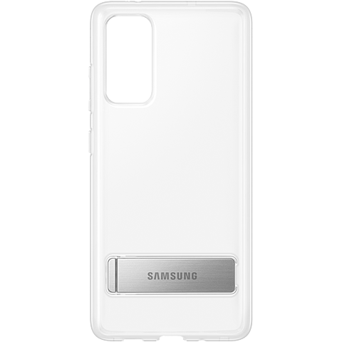 Samsung Clear Standing Cover Galaxy S20 FE - Transparent 99931340 vorne