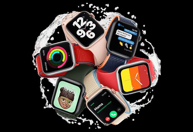 Apple Watch SE für alle Familienmitglieder