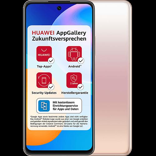 HUAWEI P smart 2021 Blush Gold Vorne und Hinten