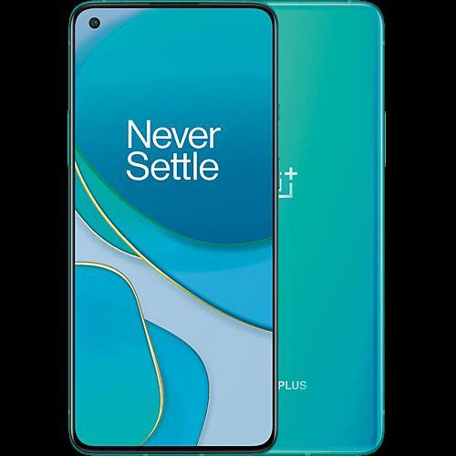 OnePlus 8T  Aquamarine Green Vorne und Hinten
