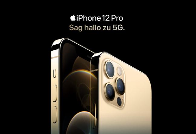 iPhone 12 pro mit Magenta Mobil Tarif