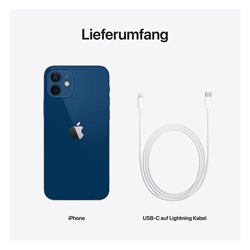 Apple iPhone 12 Blau Lieferumfang