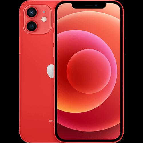 Apple iPhone 12 (PRODUCT)RED Vorne und Hinten