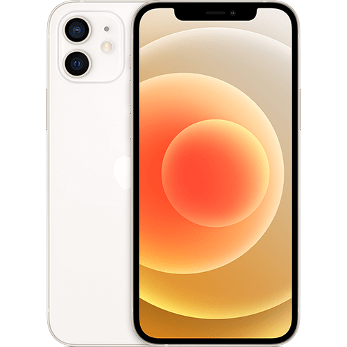 Apple iPhone 12 Weiß Vorne und Hinten