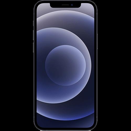 Apple iPhone 12 Schwarz Vorne