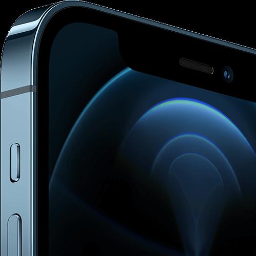 Apple iPhone 12 Pro Pazifikblau Display