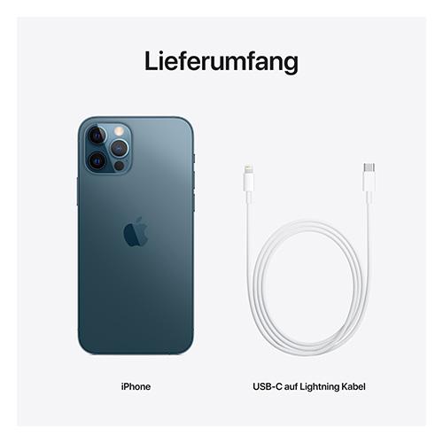 Apple iPhone 12 Pro Pazifikblau Lieferumfang