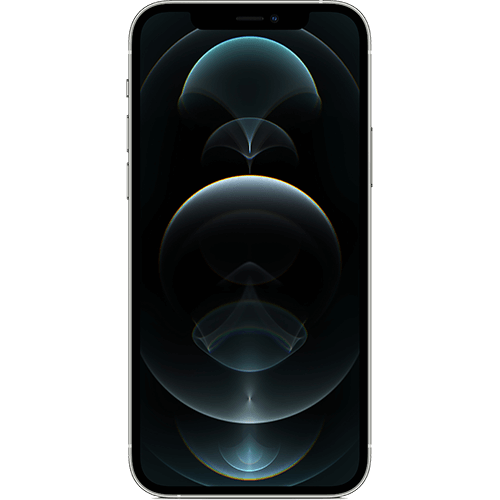 Apple iPhone 12 Pro Silber Vorne