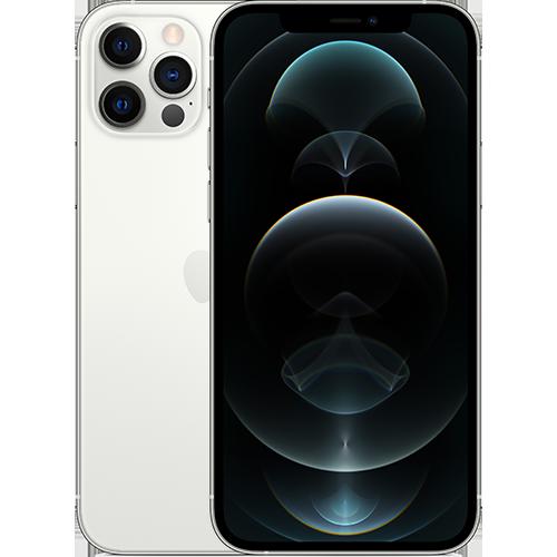 Apple iPhone 12 Pro Silber Vorne und Hinten