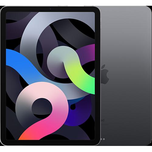 Apple iPad Air (4. Gen.) WiFi Space Grau Vorne und Hinten