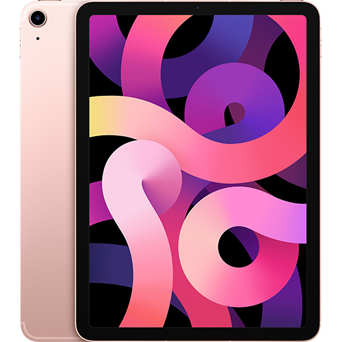 Apple iPad Air (4. Gen.) WiFi und Cellular Roségold Gallerie 1