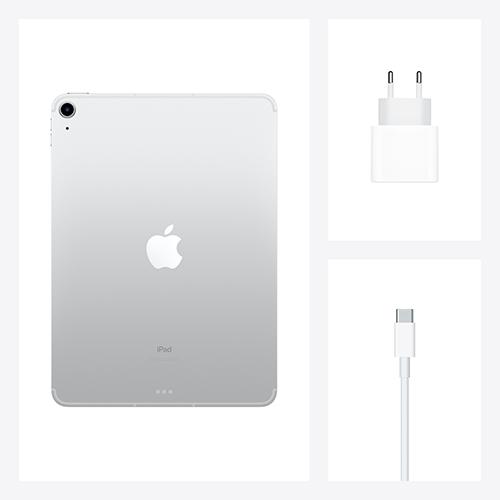 Apple iPad Air (4. Gen.) WiFi und Cellular Silber Gallerie 5