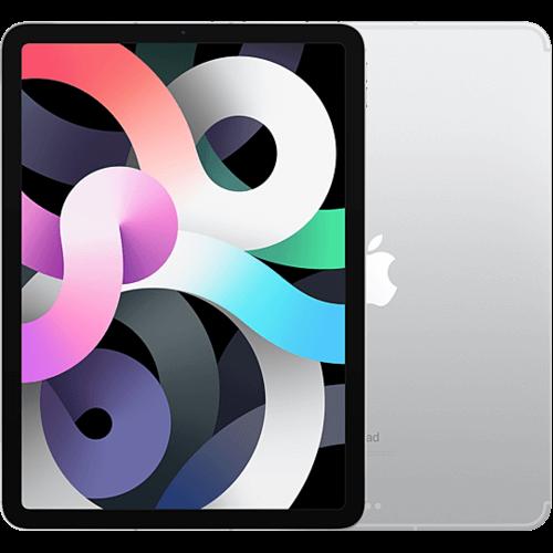 Apple iPad Air (4. Gen.) WiFi und Cellular Silber Vorne und Hinten